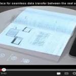 Fujitsu Ubah kertas jadi layar sentuh