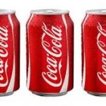 3 kaleng coca cola
