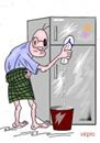 Bersihkan Kulkas