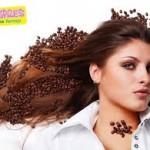 ampas kopi untuk rambut