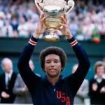 Arthur Ashe, pemain Wimbledon