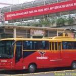 Bus away Jakarta