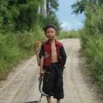 Zhang Da. Di usia 9 tahun
