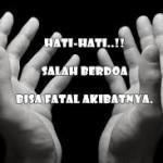 salah berdoa