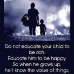 didik anak untuk bahagia