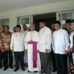 Keuskupan silaturahmi ke Gubernur Jabar