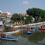 Wisata Sungai Kalimas surabaya