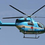 penumpang helikopter