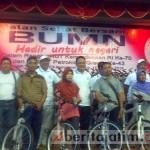 PT Pupuk Indonesia sumbang 300 sepeda gunung