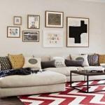 Ruang dengan warna warni