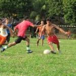 sepak bola di kampung