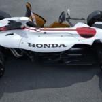 Mobil Honda bermesin MotoGp