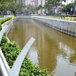 Sungai di jantung Jakarta yang bersih