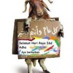 ber-Qurban kambing