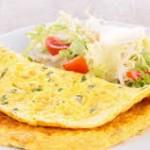 Omelet putih telur lebih sehat