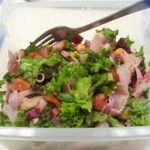 makan salad untuk diet