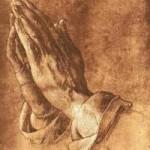 lukisan tangan berdoa karya albrecht durer