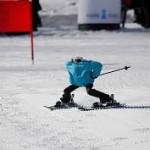 Olimpiade SKI Robot-beraksi di Olimpiade Pyeongchang