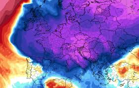 Suhu Kutub Utara melampaui titik beku
