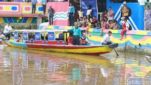 Sungai Sekanak Palembang kini molek