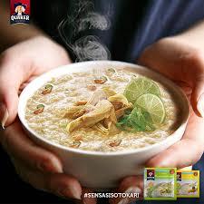 bubur oatmeal instan rasa Soto