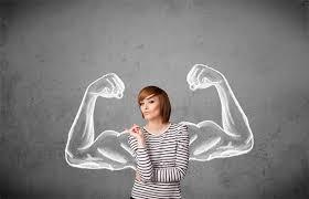 wanita kuat dan tangguh