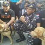 Andro Anjing Pelacak K9 Terima Medali-2