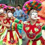Tarian Topeng Betawi di Festival Meksiko