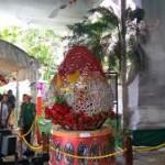 Telur raksasa berasa Bhinneka di Katedral