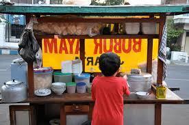 penjual bubur ayam