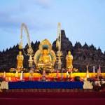 Hari Raya Waisak di Candi Borobudur