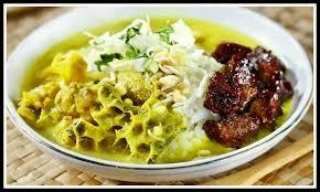 nasi becek makanan tradisional nganjuk