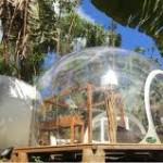 pondok gelembung unik bernama Bubble Lodge
