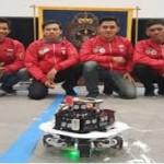 4 Robot buatan Mahasiswa menang dari AS dan China