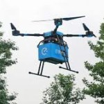China menggunakan Drone untuk antar Makanan