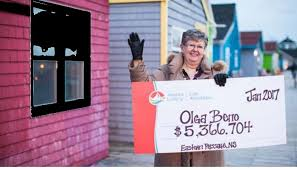 Olga Beno pemenang lotere di kanada