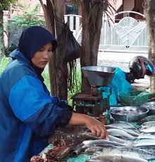 ibu penjual ikan