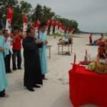 peh cun di pantai bangka belitung
