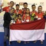 Atlet junior Wushu Indonesia Raih 2 Emas di Brazil