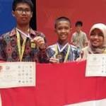 Siswa Sumsel Juara Matematika di Korsel