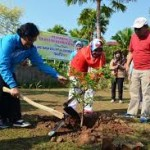 Tanam Pohon bentuk Investasi Oksigen