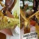 Kreasi Sisik Ikan-Meraup 10 Juta Rupiah