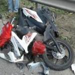 kecelakaan motor