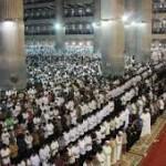 salat idul adha di masjid istiqlal