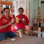 Kopi Yuam dan gelas bambo