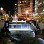 sungai cheonggyecheon di seoul