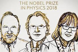 Bermain Cahaya-2 Ilmuwan memenangkan Nobel Fisika-2018