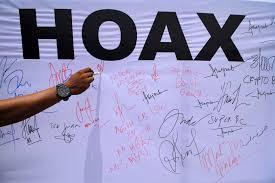 Objek Politik dan Kesehatan yang laku penyebaran Hoax