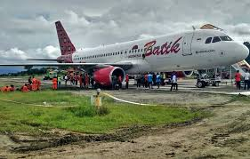 Pilot Batik Air melihat Laut berlubang ketika terbang