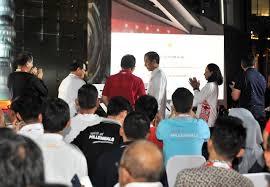 The Telkom Hub hadir-Itu pekerjaan berat dimulai
